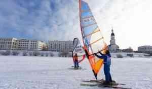 В Архангельске пройдёт чемпионат и первенства России по зимнему виндсерфингу