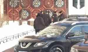 В Архангельске из окна гостиницы «Двина» выпал человек