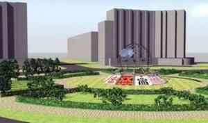 Варламов прокомментировал благоустройство площади Дружбы народов в Архангельске