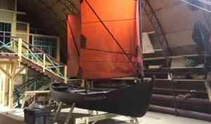На верфи Товарищества поморского судостроения готов к сдаче первый карбас