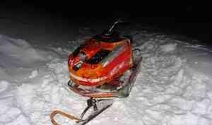 В Лешуконском районе снегоход сбил ребёнка на «ватрушке»