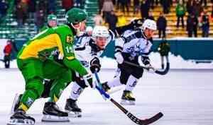 Сотрудники Росгвардии приняли участие в обеспечении безопасности матча чемпионата России по хоккею с мячом