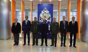 Академию гражданской защиты МЧС России посетила делегация посольства ОАЭ в России