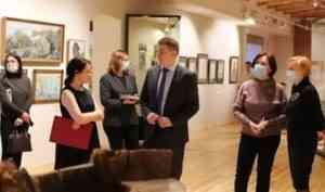 В музее С.Г. Писахова в Архангельске открыли обновленную экспозицию