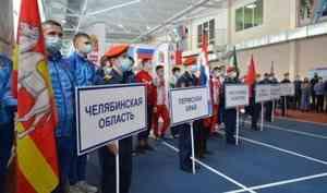 В Удмуртии состоялась церемония открытия Всероссийских соревнований по пожарно-спасательному спорту