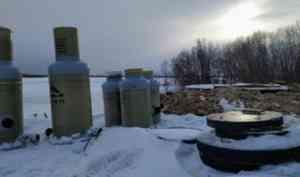 На острове Кего проверили ход строительства новых водоочистных сооружений