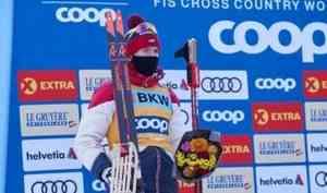 Александр Большунов остался без медали в15-километровой «разделке» начемпионате мира