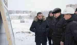 Александр Цыбульский проверил ход строительства школ в рамках нацпроекта «Образование»
