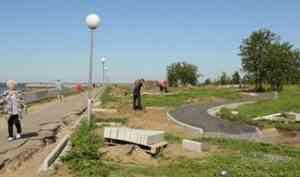 Город корабелов Северодвинск продолжает благоустройство общественных территорий