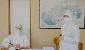 За сутки в Архангельской области выявили 117 новых случаев COVID-19