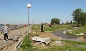 Благоустройство общественных территорий Северодвинска продолжится в2021 году