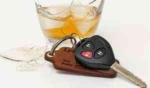 В Архангельской области борются с пьяными водителями