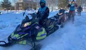 В Архангельской области проходит двухдневный снегоходный марафон «Север 400»