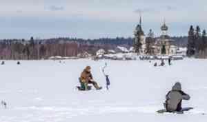 «Налим Малиныч»: в Кенозерье прошли соревнования по зимнему лову рыбы