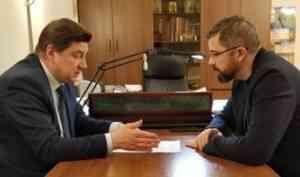 Дмитрий Рожин в Новодвинске: «Главная цель – личный контроль программы переселения»