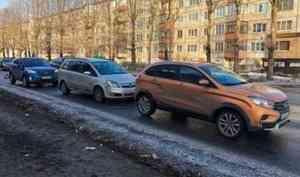 Тройное ДТП произошло в Северодвинске