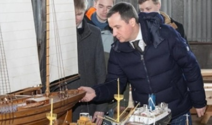 Александр Цыбульский предложил возродить практику проведения в Архангельске всероссийских соревнований по судомодельному спорту