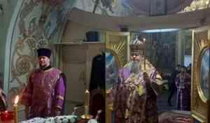 Митрополит Корнилий совершил всенощное бдение в канун Недели Крестопоклонной