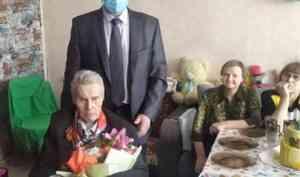 4 апреля отметил свой 95-летний юбилей ветеран войны Леонид Алексеевич Макаровский