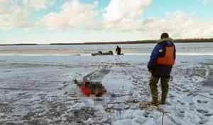 Спасатели обнаружили тело погибшего капитана аэролодки, перевернувшейся на Северной Двине