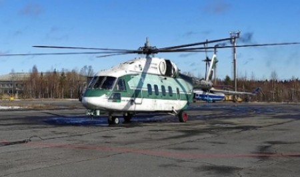 В аэропорт Васьково прибыл новый российский вертолет Ми-38