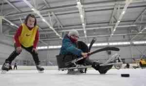 Фестиваль по следж-хоккею в Архангельске: спорт доступен каждому!
