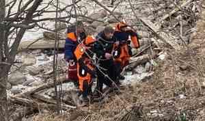 В Архангельске мужчина провалился под лёд Северной Двины