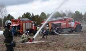Практические мероприятия по защите от природных пожаров отрабатываются в третий день командно-штабного учения