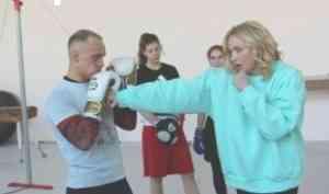 Заслуженный мастер спорта России Светлана Кулакова провела тренировку в САФУ