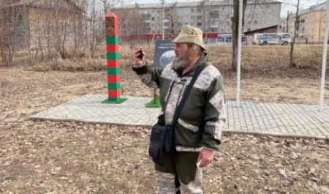 Известный российский путешественник дошёл пешком до Архангельской области