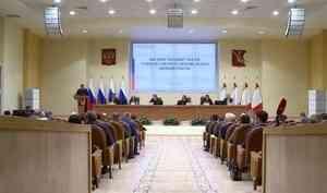Предложения по развитию лесной отрасли России на заседании рабочей группы Совета Федерации озвучил губернатор Александр Цыбульский