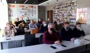 Сегодня в Северном Арктическом университете завершилось обучение специалистов дорожной отрасли