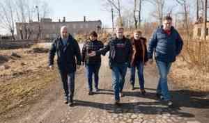 Дмитрий Морев совершил инспекционную поездку в Соломбалу