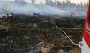 Пожароопасный сезон в Архангельской области объявят уже 27 апреля