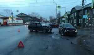 В Архангельске в ДТП пострадал водитель «Лады»