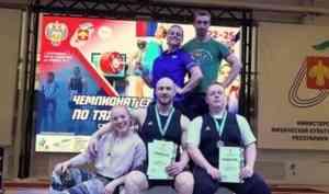 Тяжелоатлеты Поморья завоевали пять медалей на чемпионате Северо-Запада России