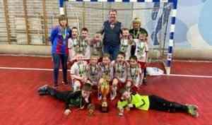 «Барсы» выиграли первый детский турнир по мини-футболу на призы главы Архангельска