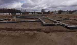 В Лайском Доке началось строительство детского сада