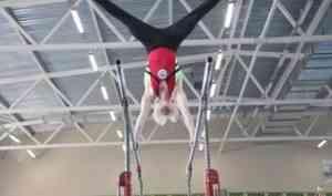 В новом архангельском гимнастическом ФОКе проходят первые соревнования