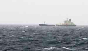 Архангельский танкер «Варзуга» дрейфует в проливе Ла-Манш