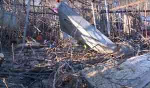 Власти и полиция разбираются в причинах разрушения могил на кладбище в Архангельске
