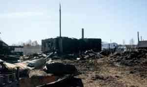 В апреле у семьи Шадриных из села Евда сгорел дом