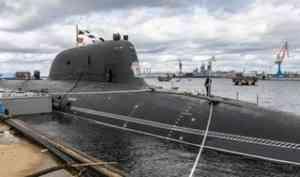 Атомный подводный крейсер «Казань» сегодня принят в состав ВМФ России