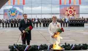 В Архангельске состоялся торжественный митинг в честь Великой Победы