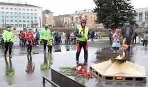 Между Вечными огнями Северодвинска и Архангельска провели велопробег