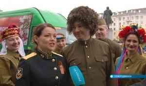 Северодвинские артисты проехали «Дорогами Победы»