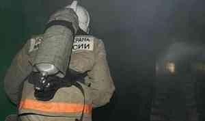 ВКотласе ночной пожар унёс жизнь пожилой женщины