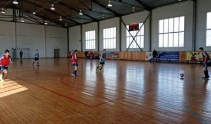 Команда Няндомской школы-интерната - победитель турнира по юнифайд-мини-футболу