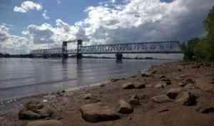 Очередное перекрытие жд-моста в Архангельске запланировано на 20 мая