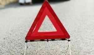 Автомобиль скорой помощи перевернулся в результате ДТП под Архангельском